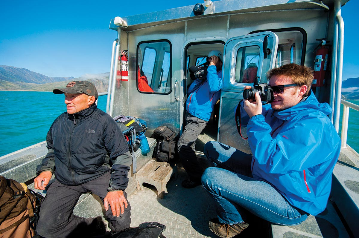 baffin island whale watching