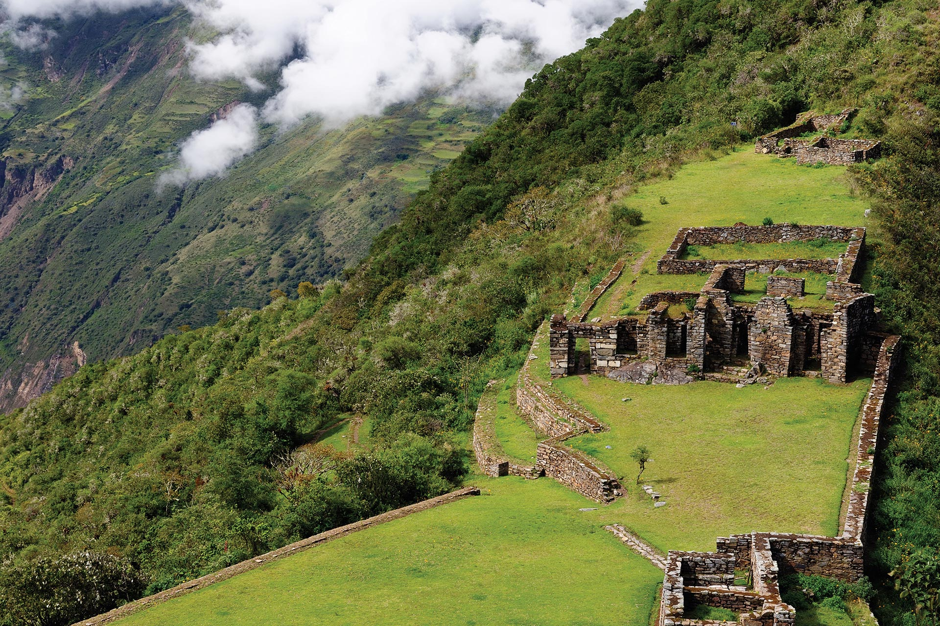 exodus travels choquequirao tour
