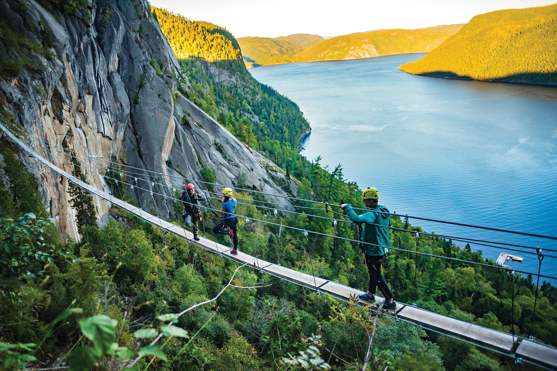 quebec adventure tourism