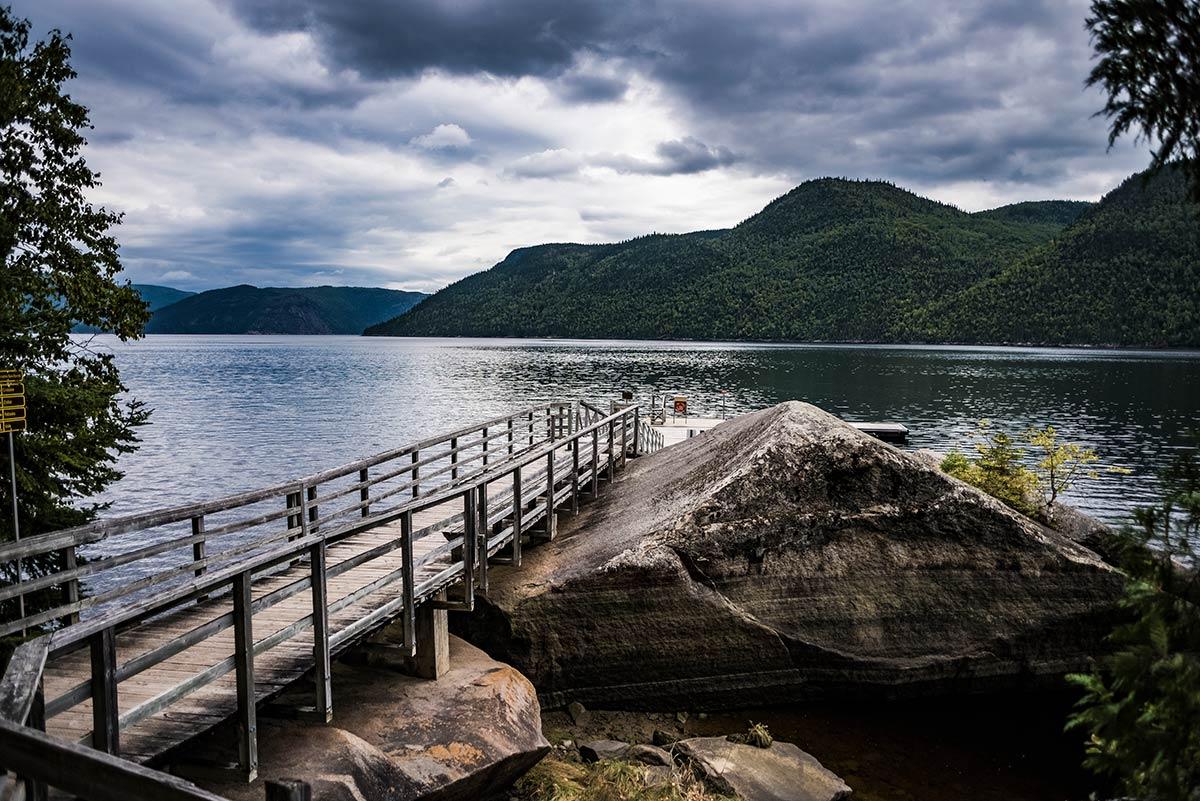 quebec landscape photo