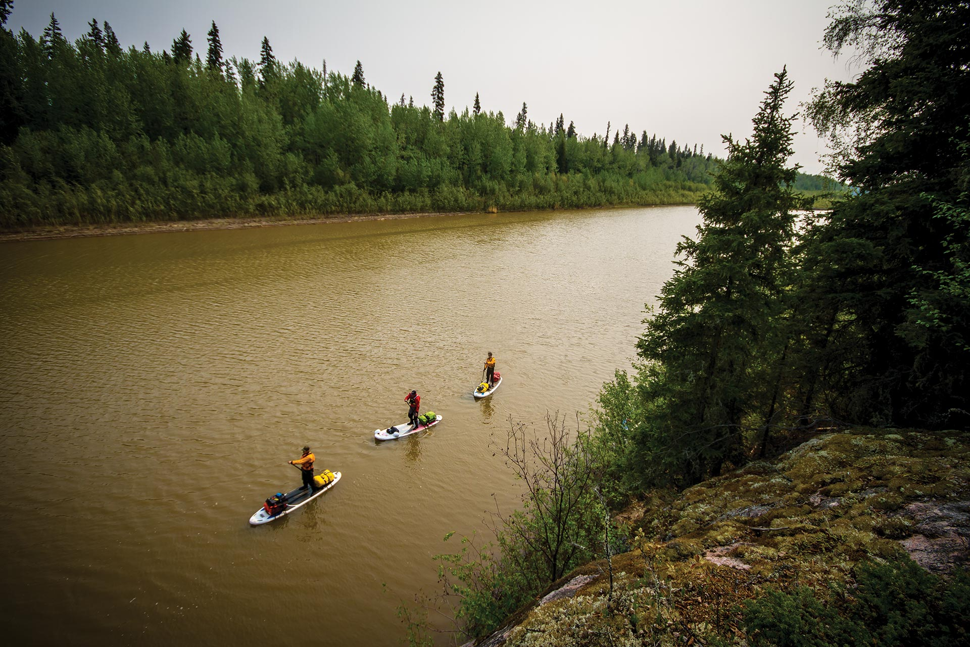 stand up paddleboarding alberta