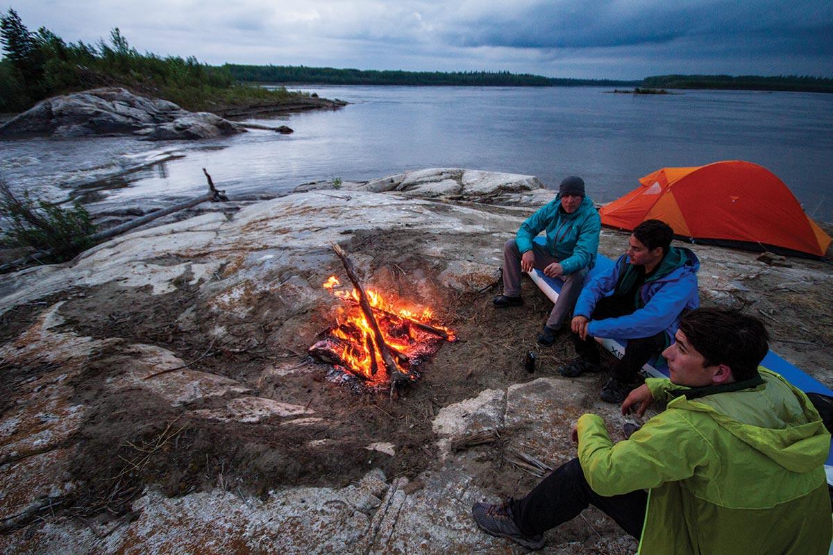 wood buffalo camping