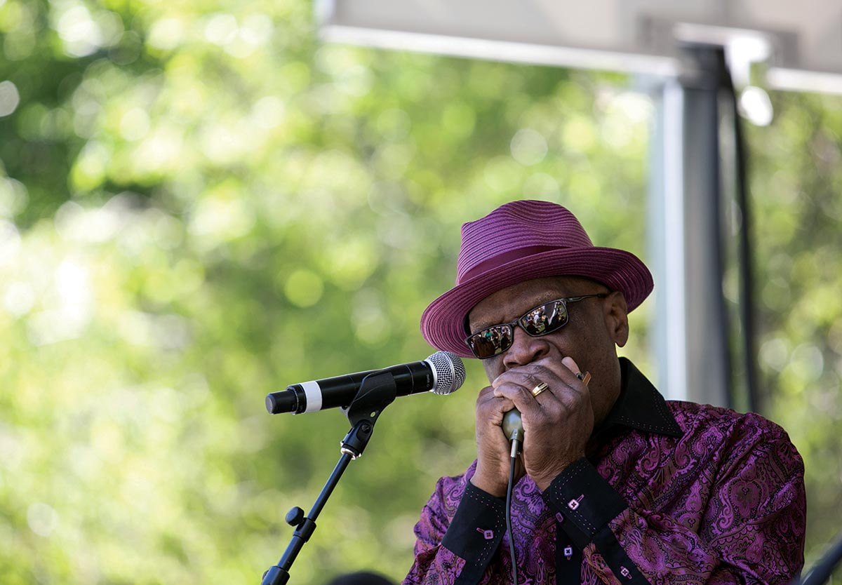 harmonica hinds chicago blues fest