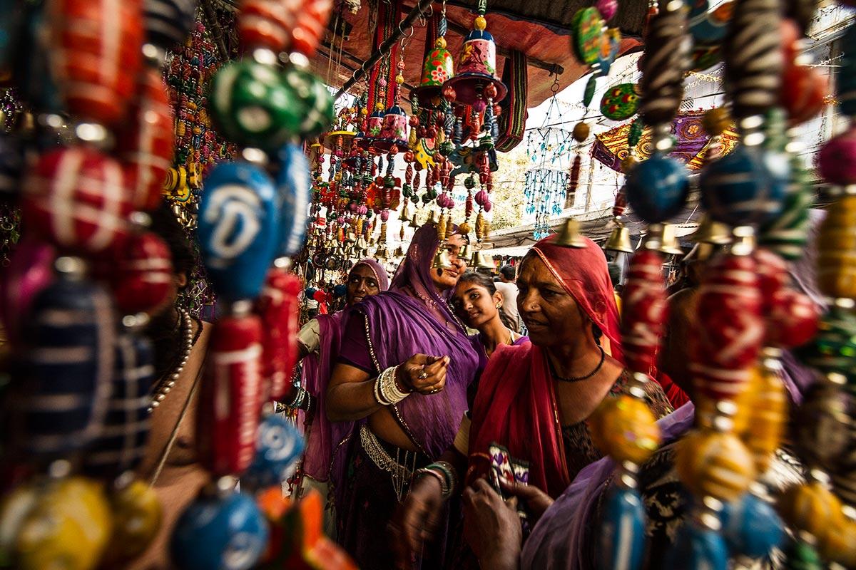 pushkar street market