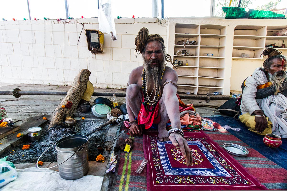 hindu sadhu photo