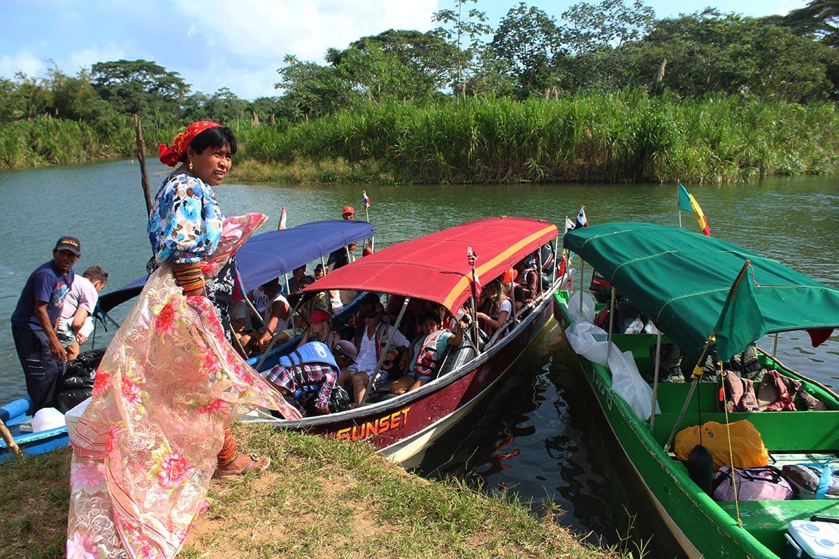 kuna yala boat ride