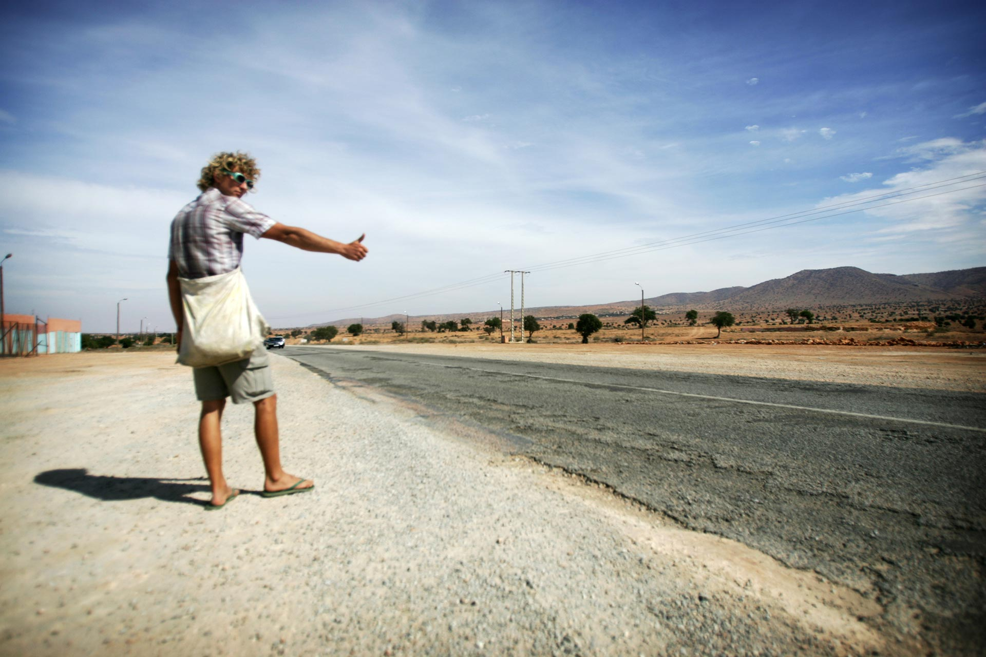 hitchhiking west africa