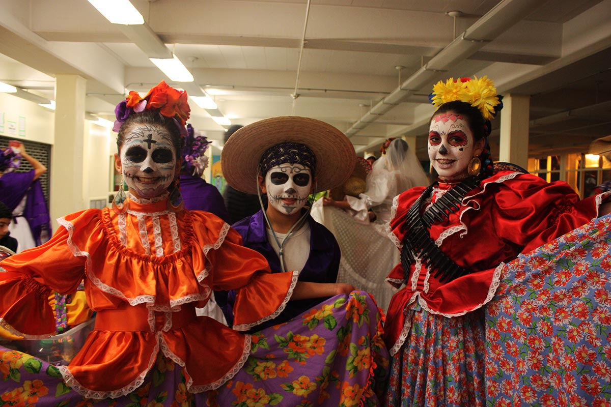 oaxaca day of the dead costumes