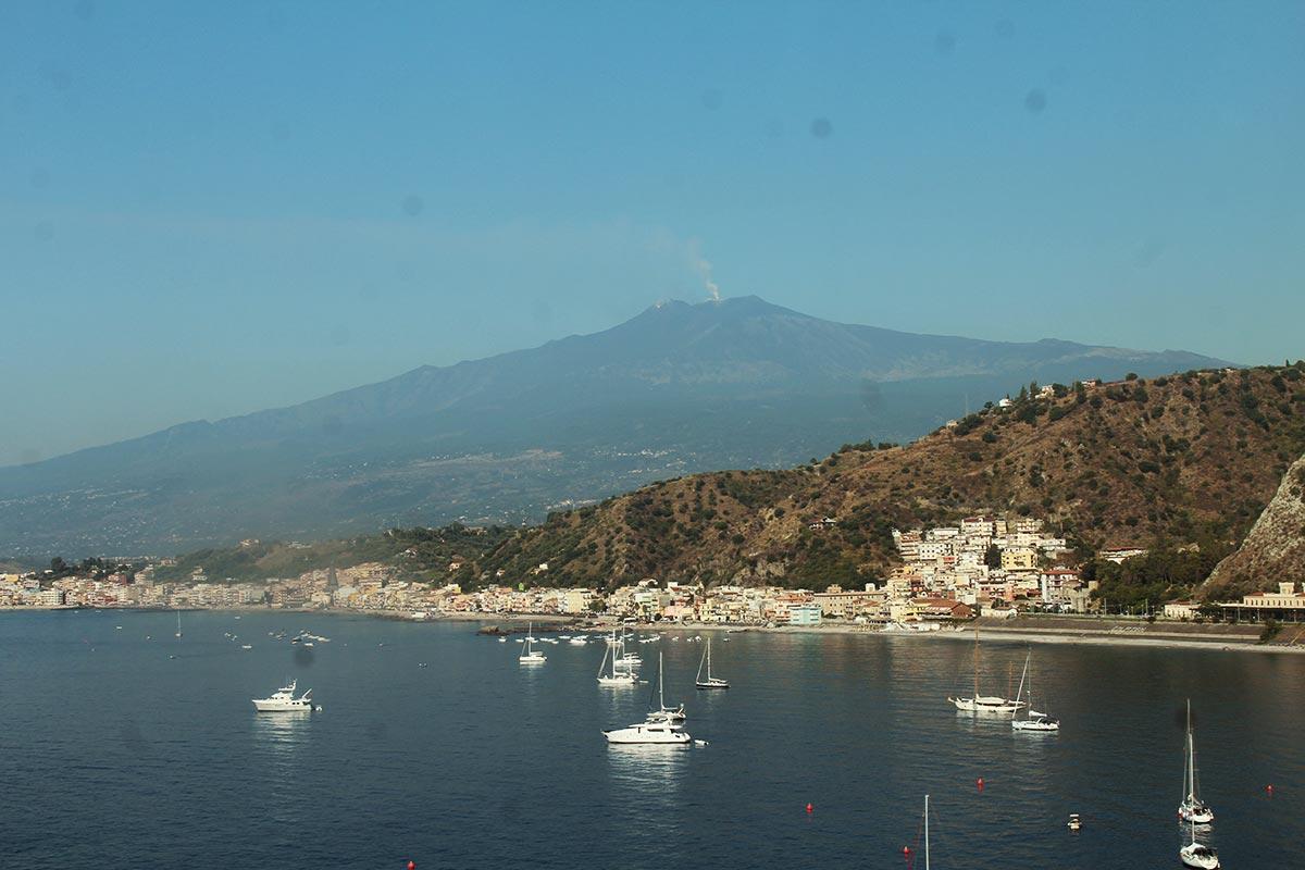 taormina sicily panorama