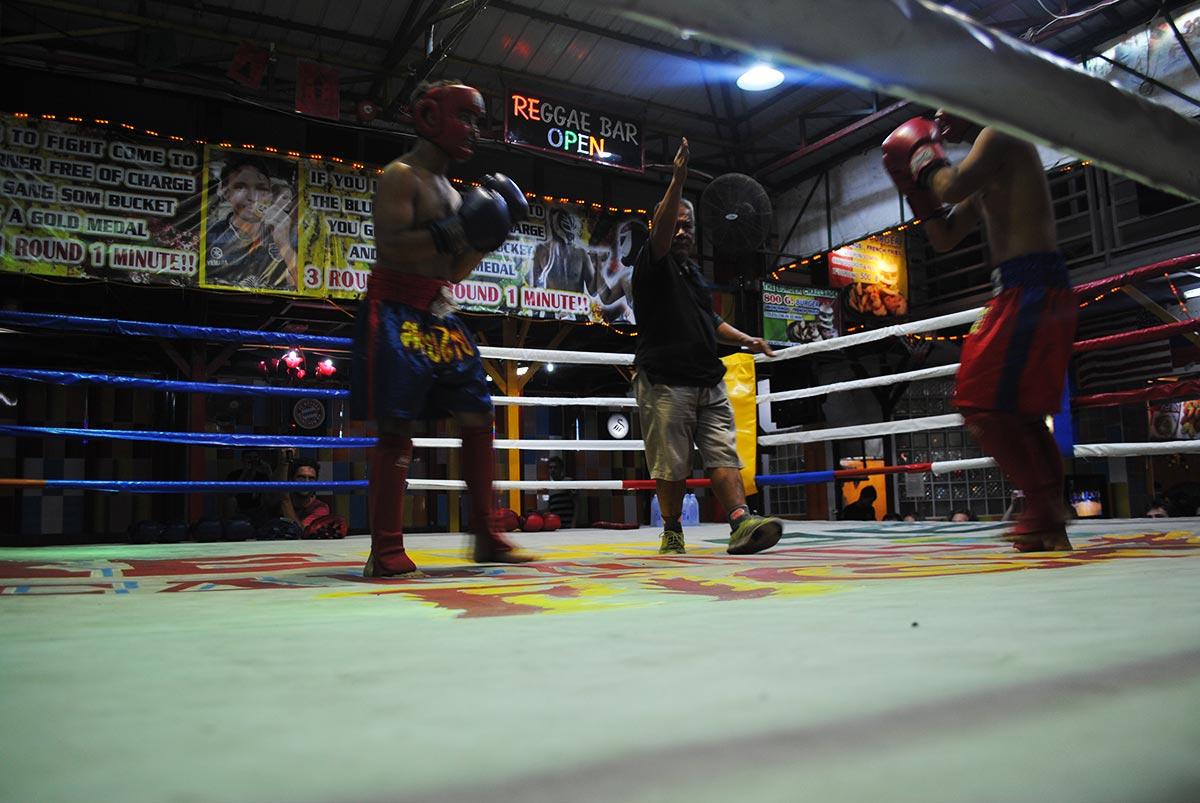 amateur muay thai match