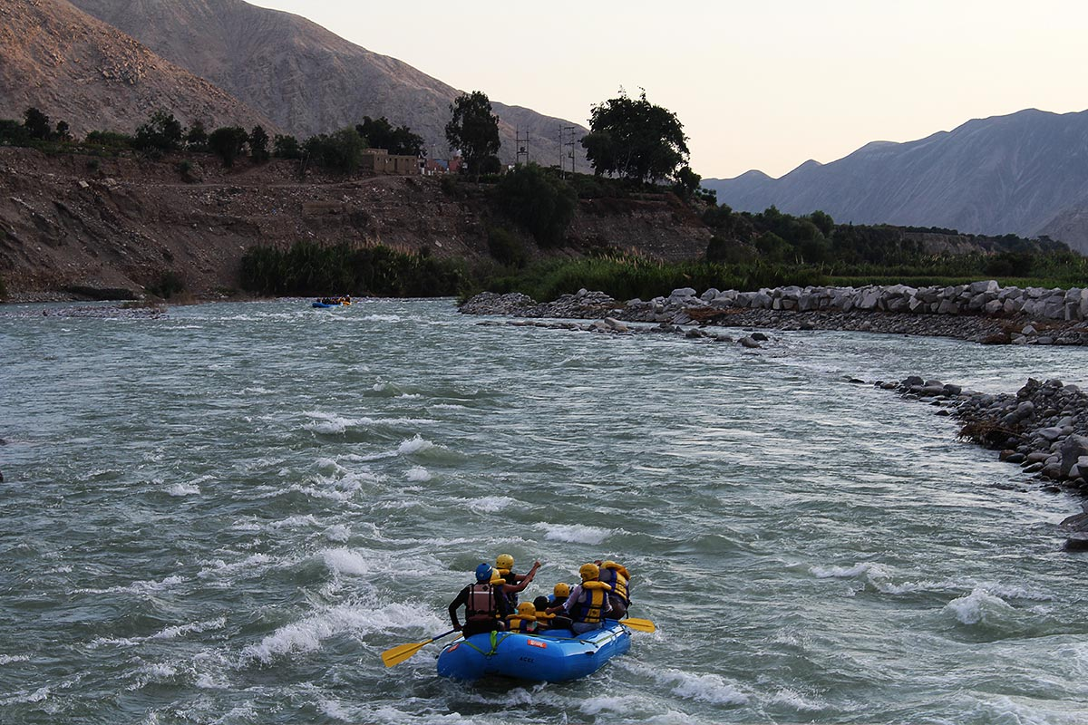 cañete river rafting