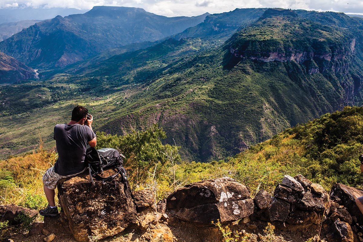trekking chicamocha canyon