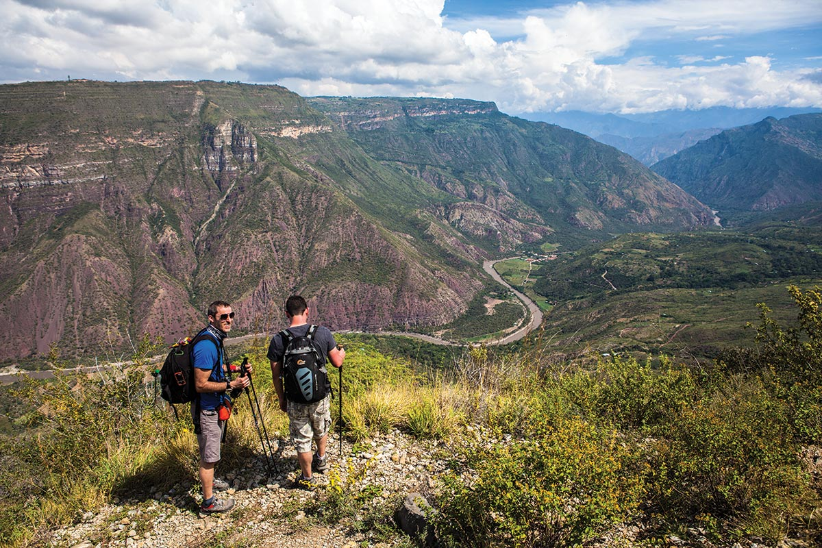 chicamocha canyon trekking