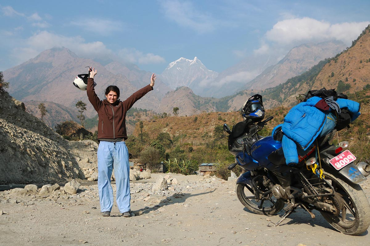 A Motorbike Ride Through the Himalayas