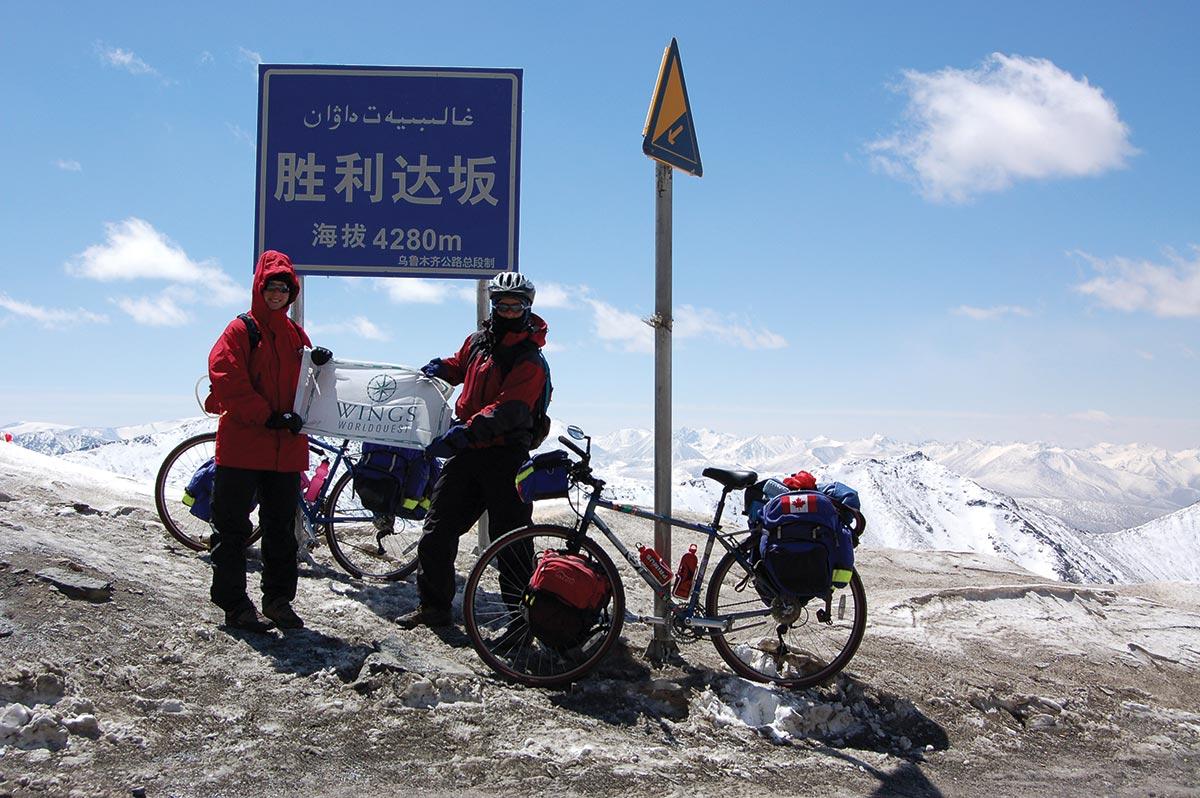 cycling silk road