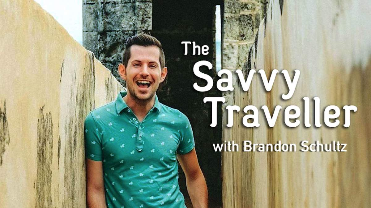 Savvy Traveller, Brandon Schultz, layovers