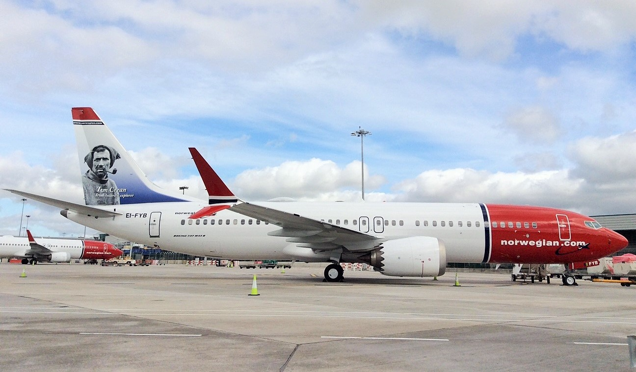 Norwegian Air, plane, Cheap flights