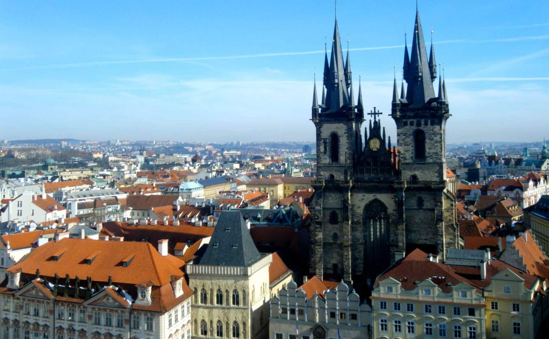 https://outpostmagazine.com Gothic Tyn Church in Prague, C Mitchell _ DSCF2680