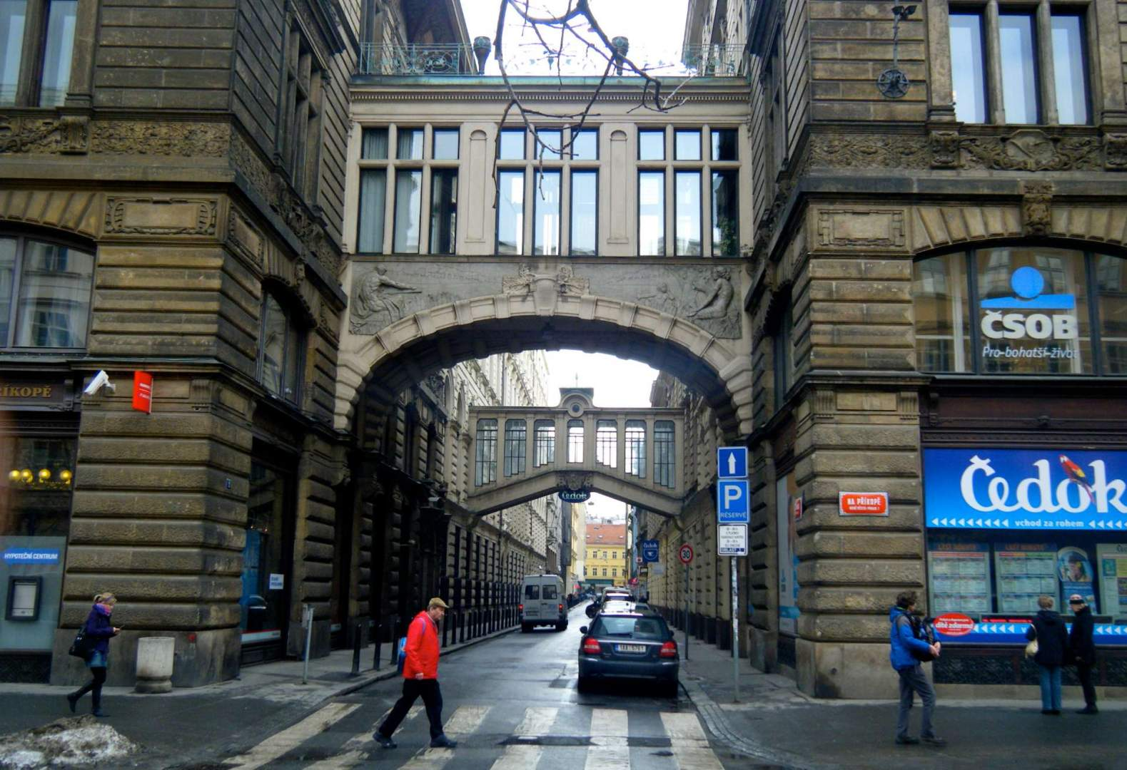 Prague street scene, Europe, Czech Republic, city tour