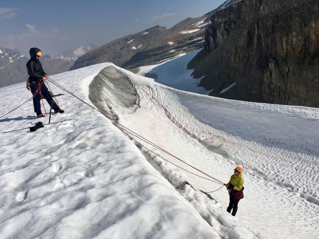 Yamnuska Women's Mountaineering Intro tour #12