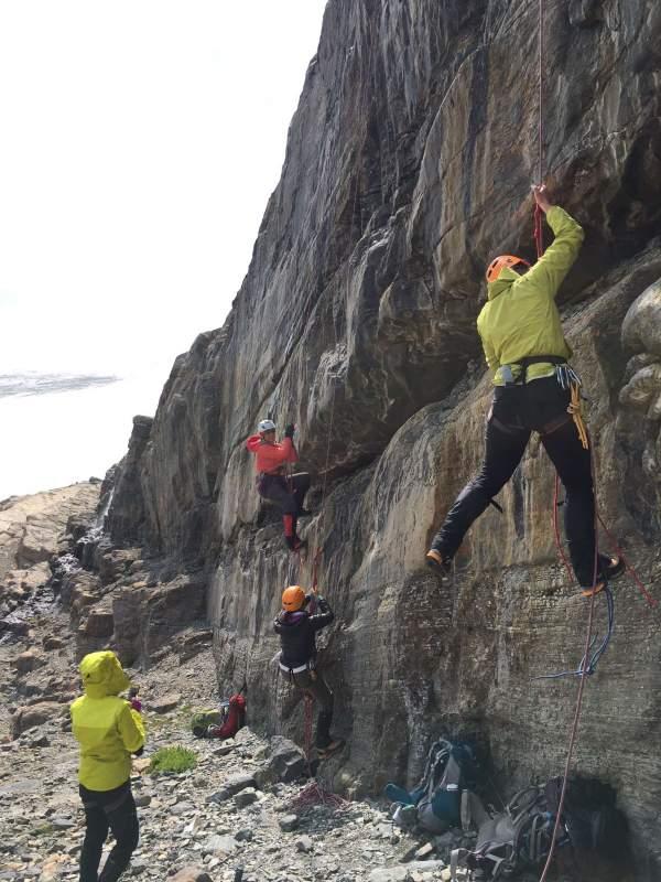 Yamnuska Women's Mountaineering Intro tour #13