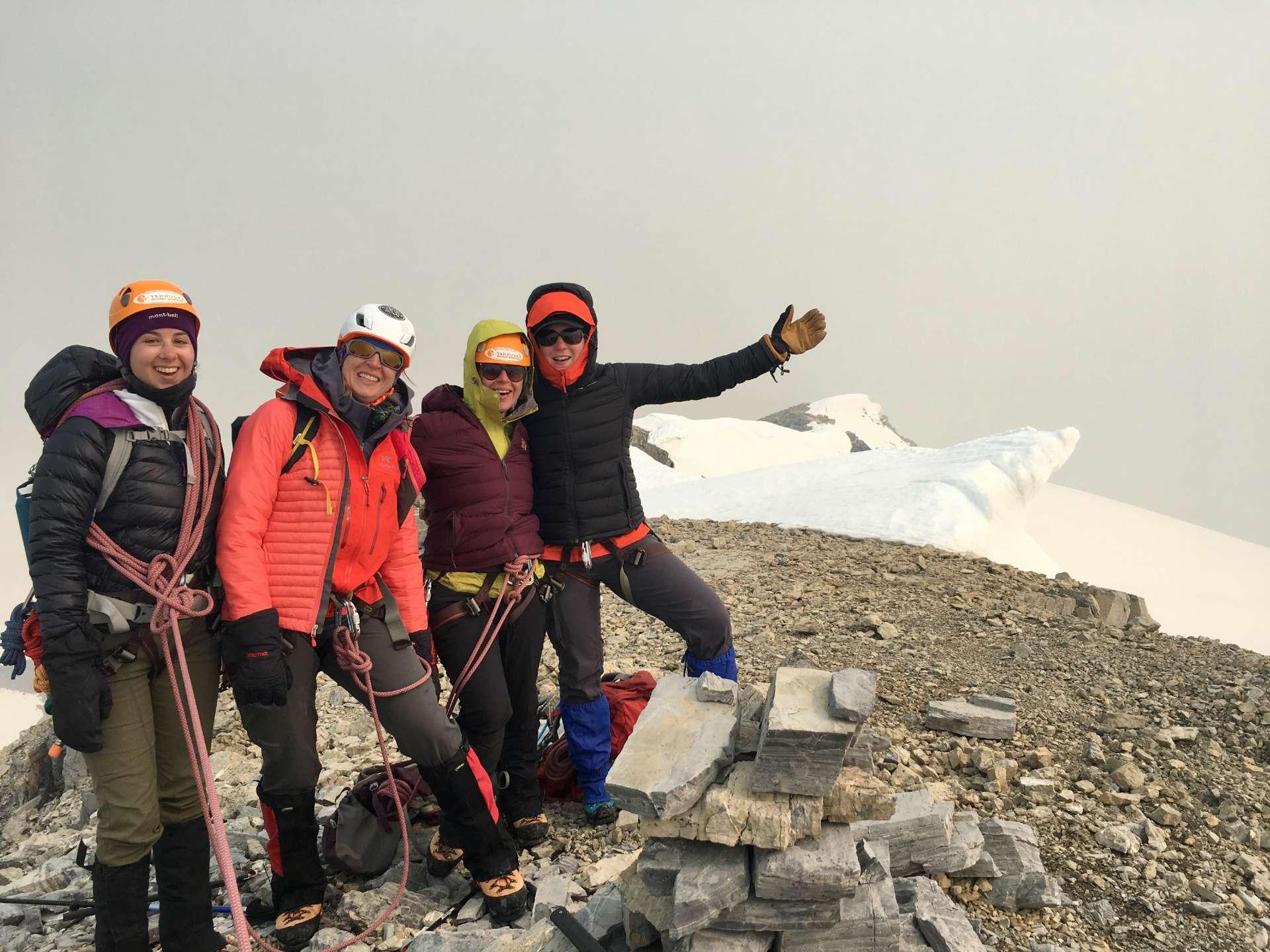 Yamnuska Women's Mountaineering Intro tour