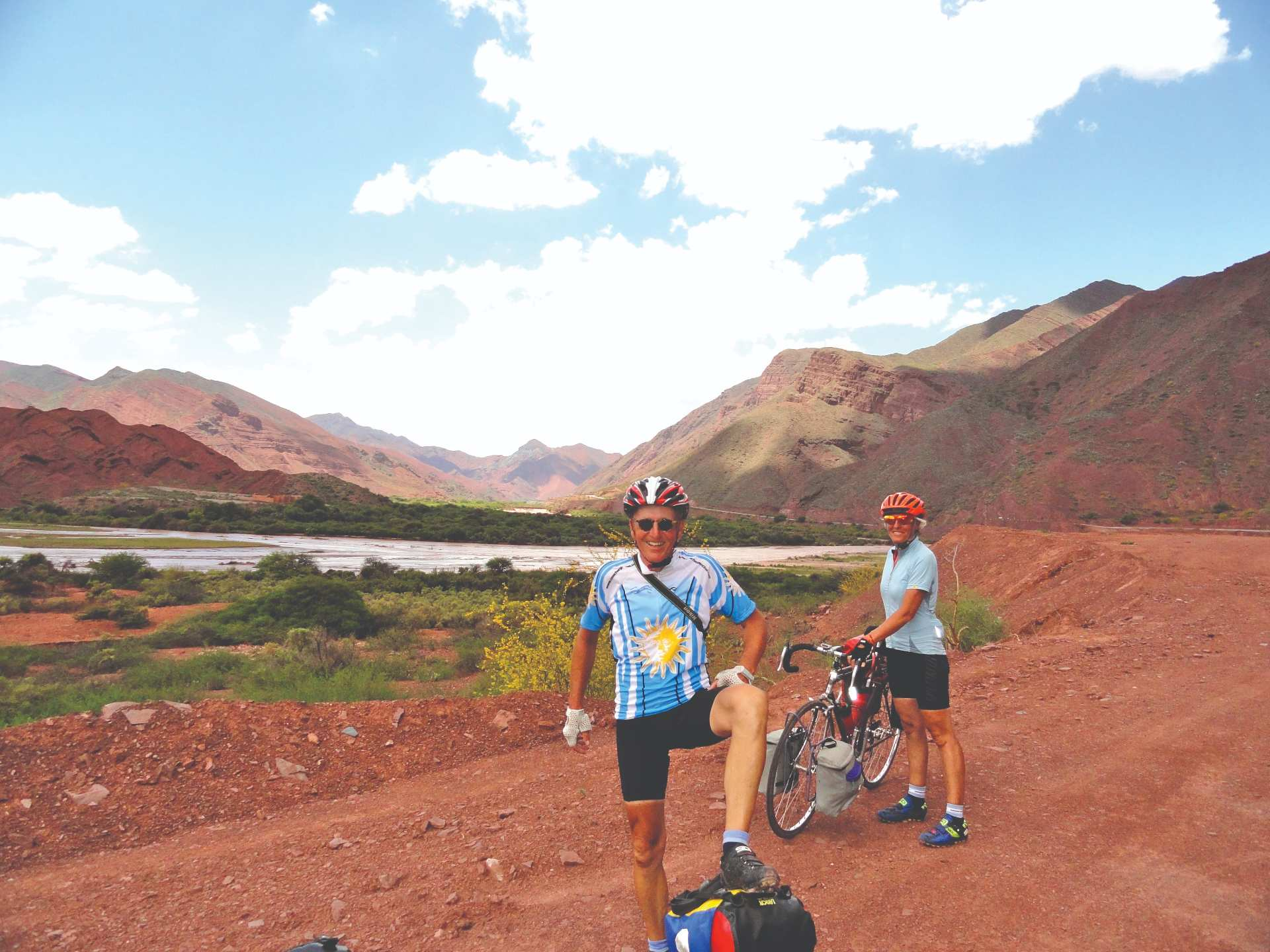 Patagonia, South America, epic cycling trip
