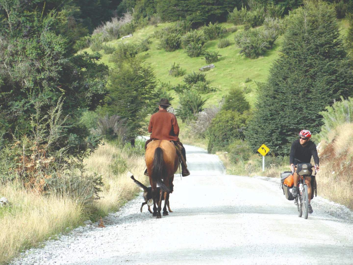 Patagonia, south america, cycling trip Andes