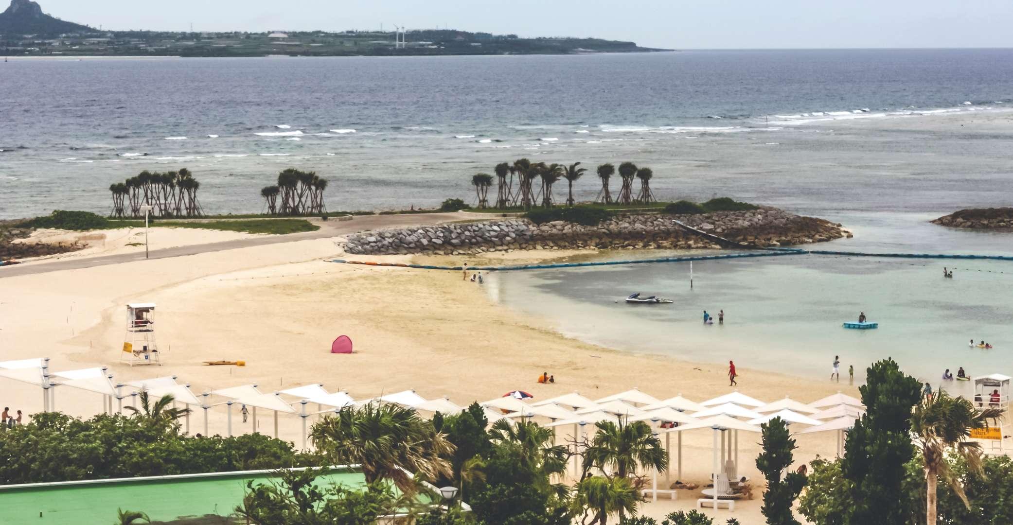 Okinawa Beach life Dave Hazzan