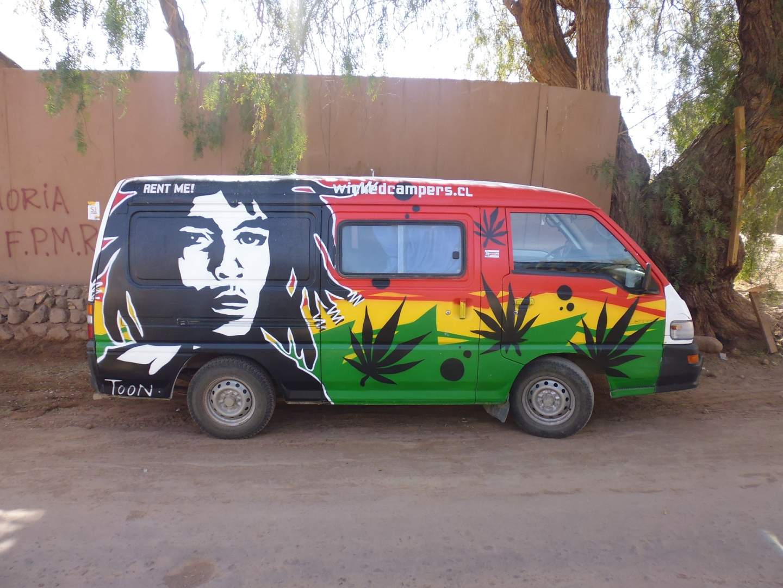 Bob Marley, everywhere! (Pixabay)