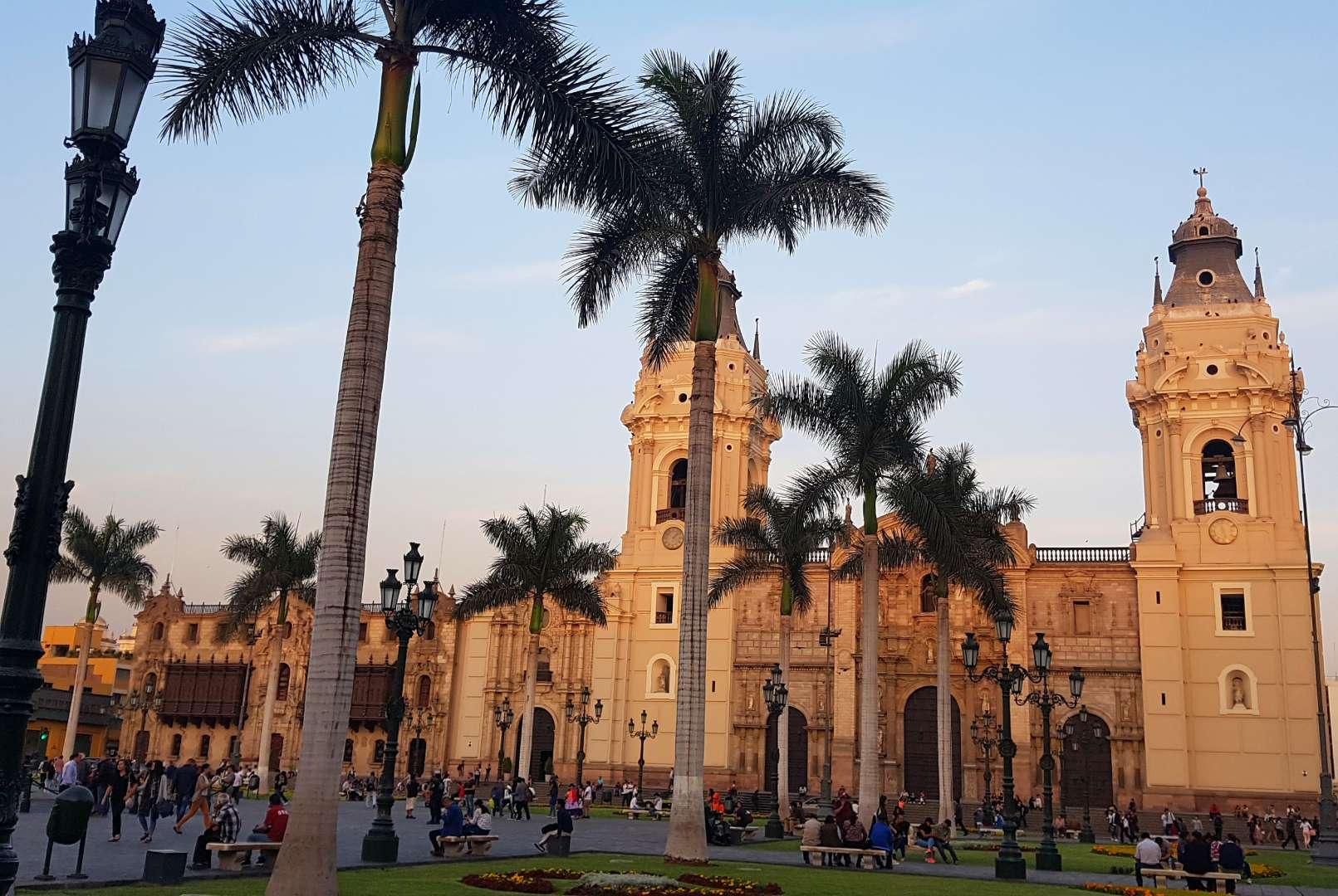 Plaza de Armas, Lima Peru _Outpost