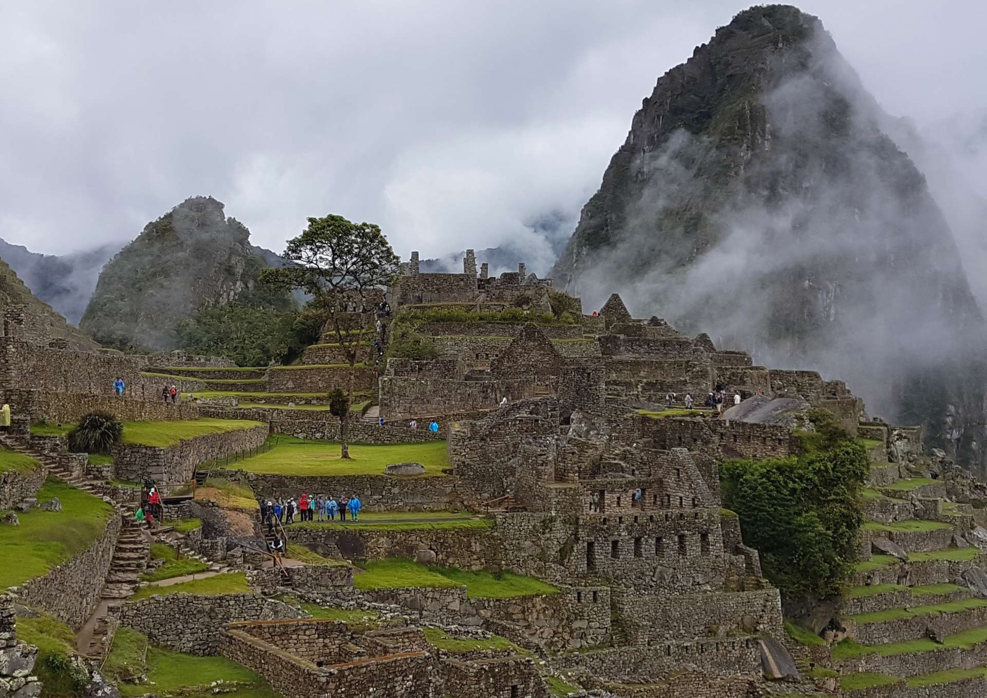 At Machu Picchu Peru Outpost 4