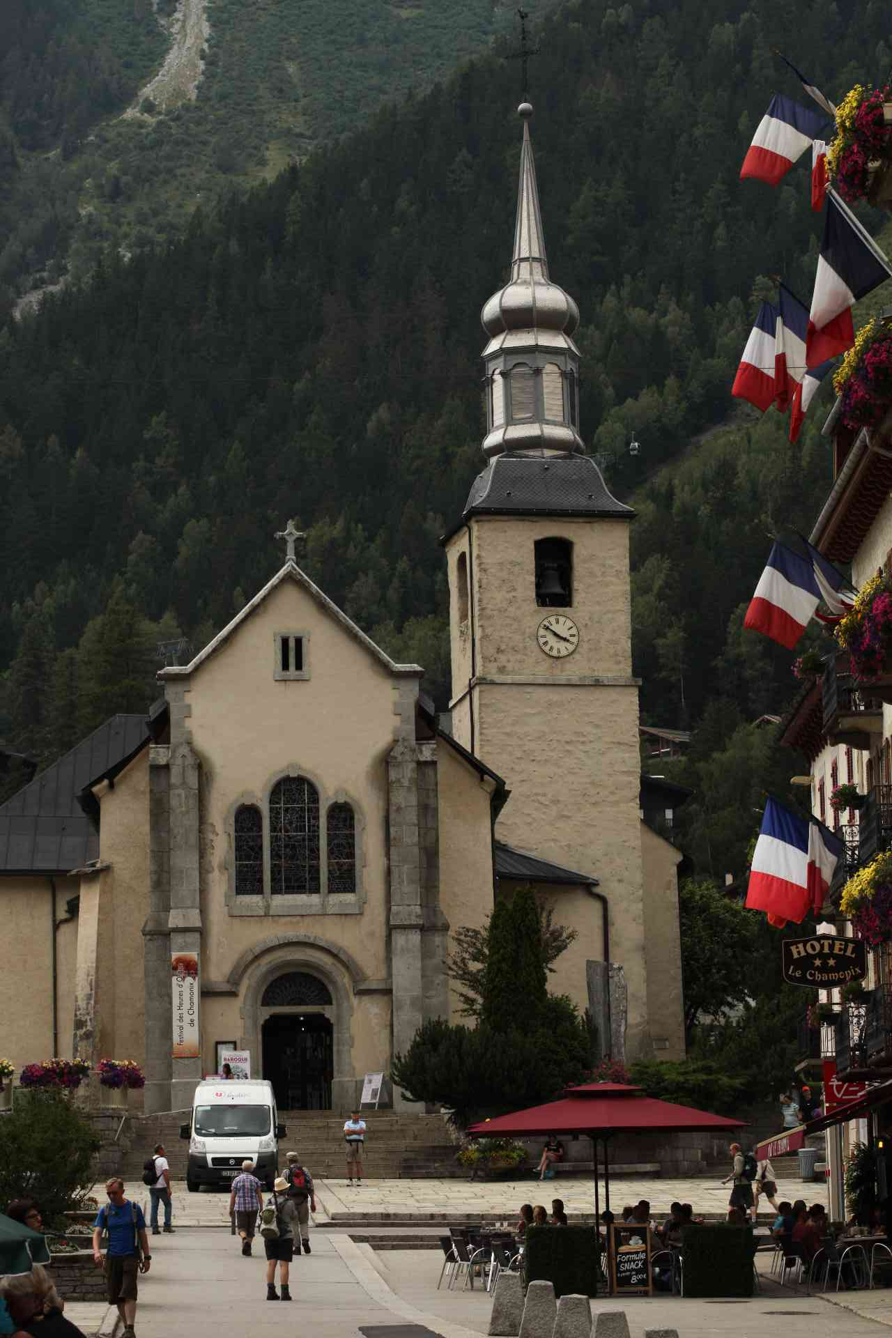 The quaint and charming towns of the Alps.