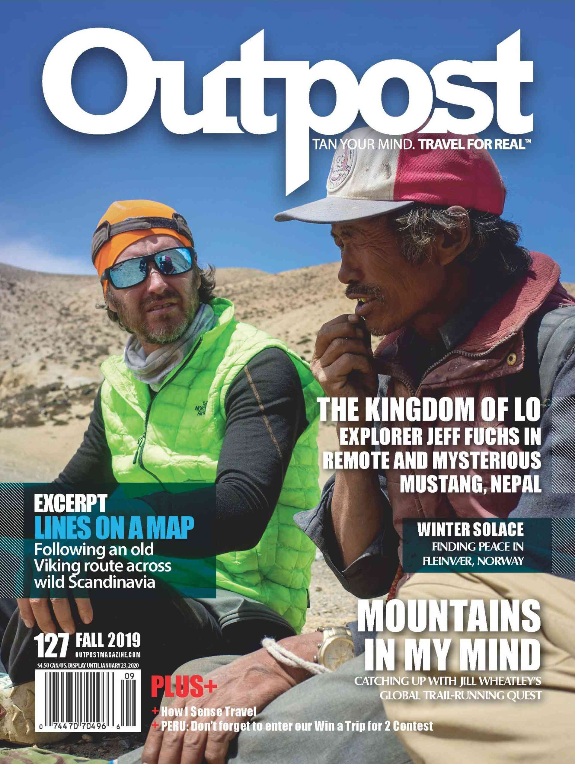 On the cover: Explorer Jeff Fuchs in the Himalayas of Nepal.